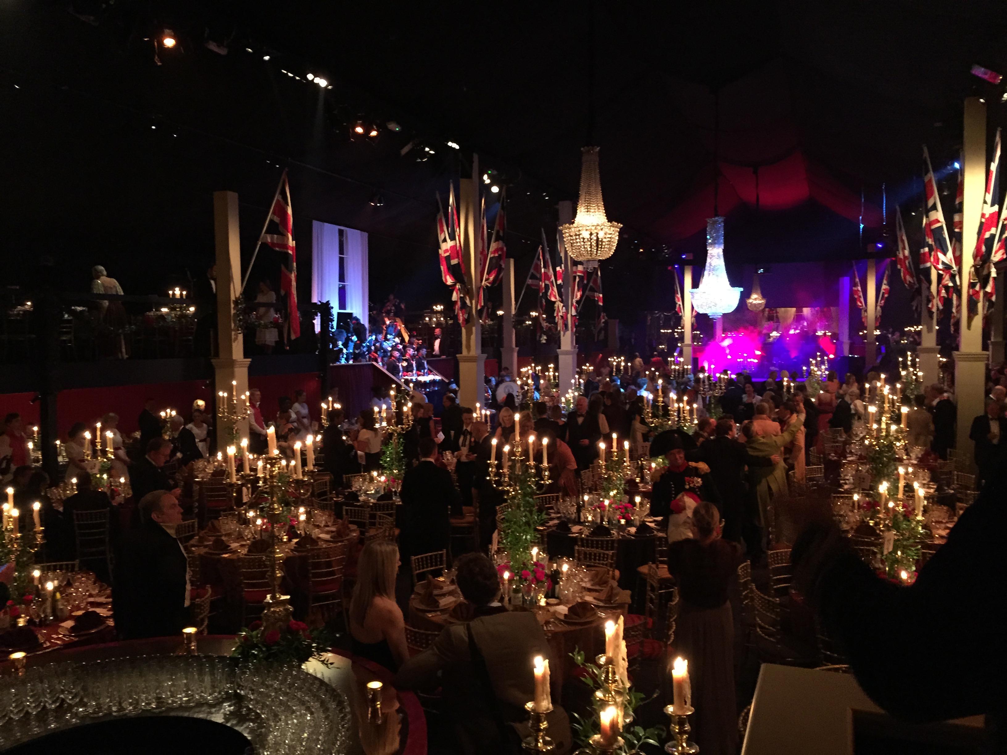 Event Decor London Goodwood Revival Ball The Battle Of Waterloo London Spicedfox